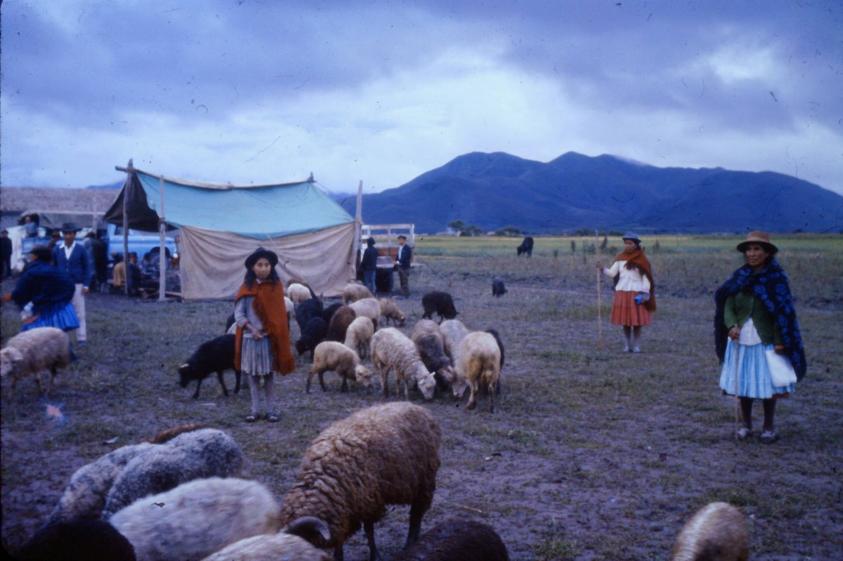 Bolivian time travel - Bolivia 1950