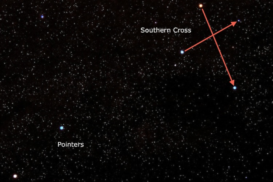Finding the Southern Cross – An essential skill